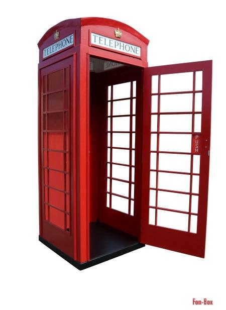 budka telefoniczna fon-box otwarta