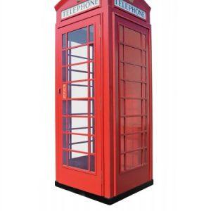 angielska budka telefoniczna fon-box czerwona
