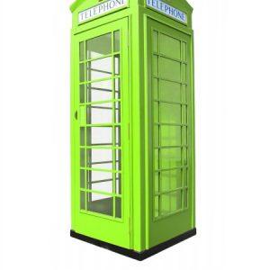 budka telefoniczna fon-box zielona