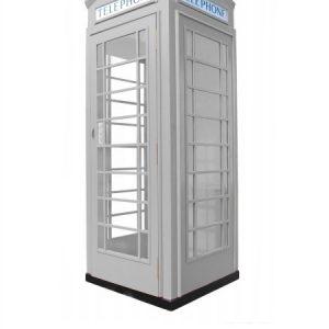 budka telefoniczna fon-box szara