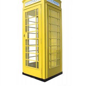 budka telefoniczna fon-box zółta
