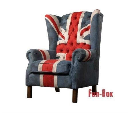 Fotel Union Jack